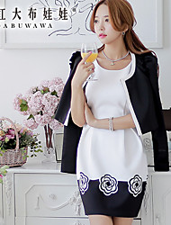 Pink Doll® Women's Casual Medium Long Sleeve Short Blazer