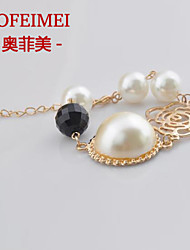Korean fashion personality Korean jewelry diamond bracelet pearl bracelet