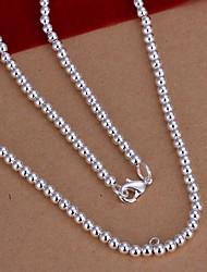 Женский Ожерелья-цепочки Стерлинговое серебро бижутерия Бижутерия Назначение Свадьба Для вечеринок Повседневные