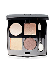 Acymer® 4 Color Eye Shadow Mineral/Wet Eyeshadow Powder 3d Dynamic Smokey makeup/Fairy makeup Eye Makeup Purple/Coffee