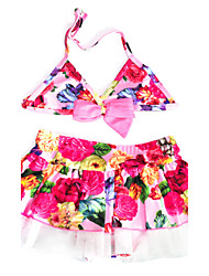 Girl's Fashion Sleeveless Swimwear
