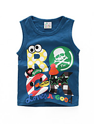 BOY'S Summer 100% Cotton  Sleeveless Thin Camis