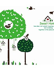Wall Stickers Wall Decals, Tree House PVC Wall Stickers