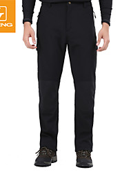 Pantalones ( Negro/Verde Militar ) -Impermeable/Transpirable/Resistente a los UV/Cremallera impermeable/A prueba de polvo/A prueba de