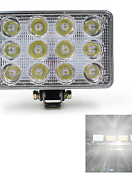 12V 24V 36W 2400LM LED Work Light Lamp For SUV Car Truck Tractor Trailer Nice