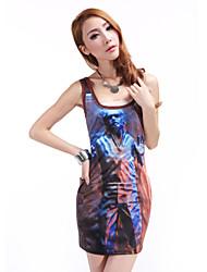 Women's Digital Print  Dress