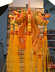 China Hand Embroidery Pendant--Dragon Lantern