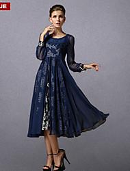 vestido de la manera clásica delgada galas vendimia suyue® nuevas mujeres de la manera