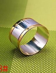 Servilleteros en forma de huevo 6pcs de cobre de 25 mm