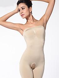 envoltório corporal shapewear nus ursinhos Chinlon das mulheres sexy lingerie shaper