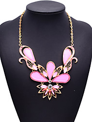 Fashion Jewelry Women's Multi-color Big Name Picture Color Necklace