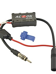 Vehicles Car Radio FM Antenna Signal Amplifier Booster for Both AM and FM Radio Stations.