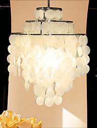 MAX 60W Lustre ,  Contemporain Chromé Fonctionnalité for Style mini MétalSalle de séjour / Chambre à coucher / Salle à manger / Salle de
