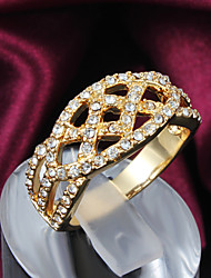 Party Gold Plated Statement Ring Wedding Rings 2015 New Design