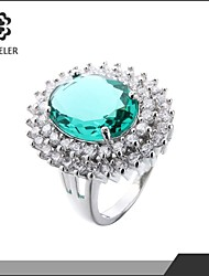 Hot Sale Micro-Inserts cz zircon Plating Gold Rings