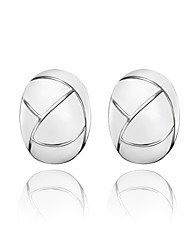 Women's Gold/Alloy Stud Earrings With