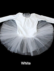 Nylon/Lycra Long Sleeve Leotard Tutus More Colors for Ladies and Girls