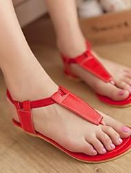 Sandali - Scarpe da donna - Senza tacco/Ballerina - Senza tacco/Ballerina DI PU