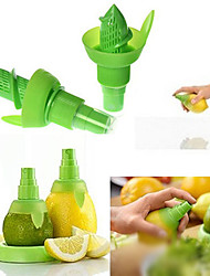 2PCS Creative Juice Juicer Lemon Spray Mist Orange Fruit Gadge Sprayer Kitchen(Random Color))21*10*2 cm
