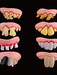 Moving The Whimsy Dentures Set Of Teeth(Random Color)
