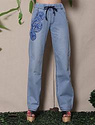 Pantaloni Da donna Casual Denim