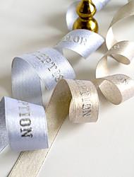 Laço de Cetim ( Branco/Preto/Vermelho/Lilás/Rosa/Prateado/Verde/Chocolate/Azul/Dourado/Amarelo/Laranja/Marfim/Fúcsia/Champagne , de Cetim