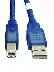 0,3 m / 1 ft USB 2.0 Druck Kabel A Stecker auf Druckerverlängerungskabel Kabel Blue B