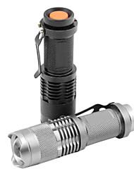 Освещение Светодиодные фонари / Ручные фонарики LED 1200 Люмен 1 Режим Cree XR-E Q5 14500 Фокусировка / Водонепроницаемый