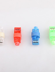 4PSC Led Laser Finger Light Beams Torch Ring Kids Boy Dancing Party (Random Color)