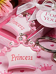Prince Baby Shower Keychain Favor Key Ring
