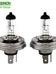 2pcs novo h4 P45T xencn 24v 100 / 90w 3200k série clara auto lâmpadas padrão offroad bulbo faróis de halogéneo de caminhão