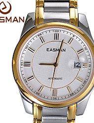 EASMAN Brand Watches Man Mechanical Business Gold Watch Automatic Luxury Sapphire Wristwatches