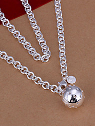 Women Fashion Casual Silver-plated Necklace