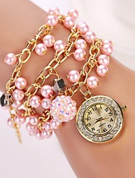de cuarzo reloj de pulsera de la perla de la marca de lujo de las mujeres de moda diseñador de la marca de lujo de diamantes de color