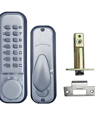 All Weather Mechanical Digital Entrance Door Lock Stain Chrome OS12B