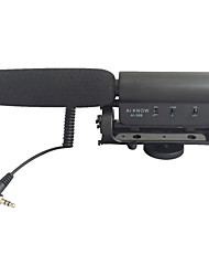 WELHOME High Sensitivity Condernser Microphone for Camera, Interviews and Other Applications.