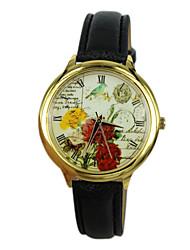 Women's The Bird Style PU Band Quartz Analog Wrist Watch (Assorted Colors)
