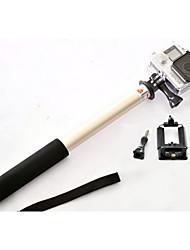 s168l SERK extensible monopie palo selfie de mano para el smartphone de Samsung teléfono htc cámara GoPro aureate