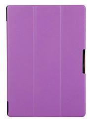 10,1-дюймовый тройной складной шаблон высокого качества PU кожа для вкладке Lenovo A10 2 a10-70 (ассорти цветов)