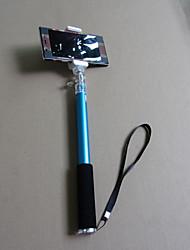 lujo temporizador selfie extensible monopie palo selfie aluminio