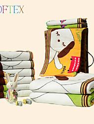 Serviette de bain - Fil teint - en 100% Coton - 27.56×55.12 inch(74×140 cm)
