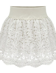 Women's Skirts , Lace Sexy/Casual/Lace/Party/Work PDL