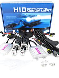 MINGEN®Short Circuit Protection Quick Start H4 Telescopic Section HID Xenon Light Suit AC 55W 8000K