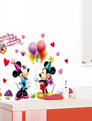 Stickers muraux style autocollants de mur disneyland mickey pvc stickers muraux