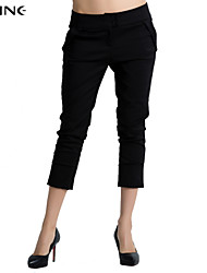 Women's CLOTHING STYLE Elasticity THICKNESS Pant Style Pants (Fabric)