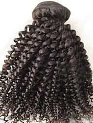 """Pc 1 lotto 8 """"-24"""" capelli brasiliani del Virgin # 1b crespo dei capelli umani ricci pacchetti estensione dei capelli"""