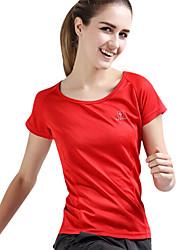 Tops/Camiseta (Verde/Rojo/Gris oscuro/Gris claro/Azul) - Transpirable/Secado rápido - deCamping y