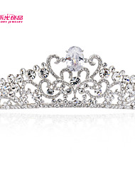 Neoglory Jewelry Bridal Tiara Crown with Sparkly Clear Austrian Rhinestone for Lady's Wedding Pageant/Party