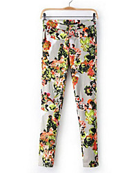 Women's Vintage/Casual/Party/Work Skinny Pants , Cotton Micro-elastic