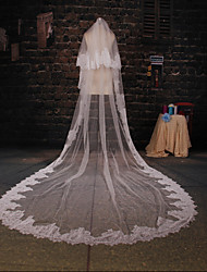 Wedding Veil Two-tier Cathedral Veils